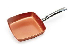 copper chef square pan