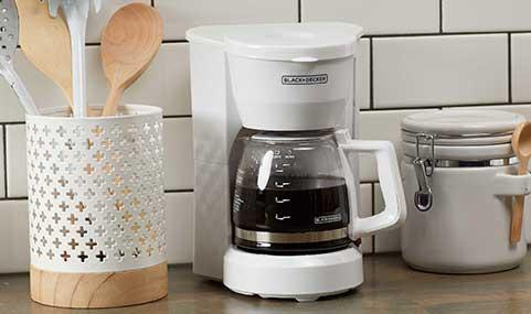 Black +Decker 5-Cup Coffee Maker