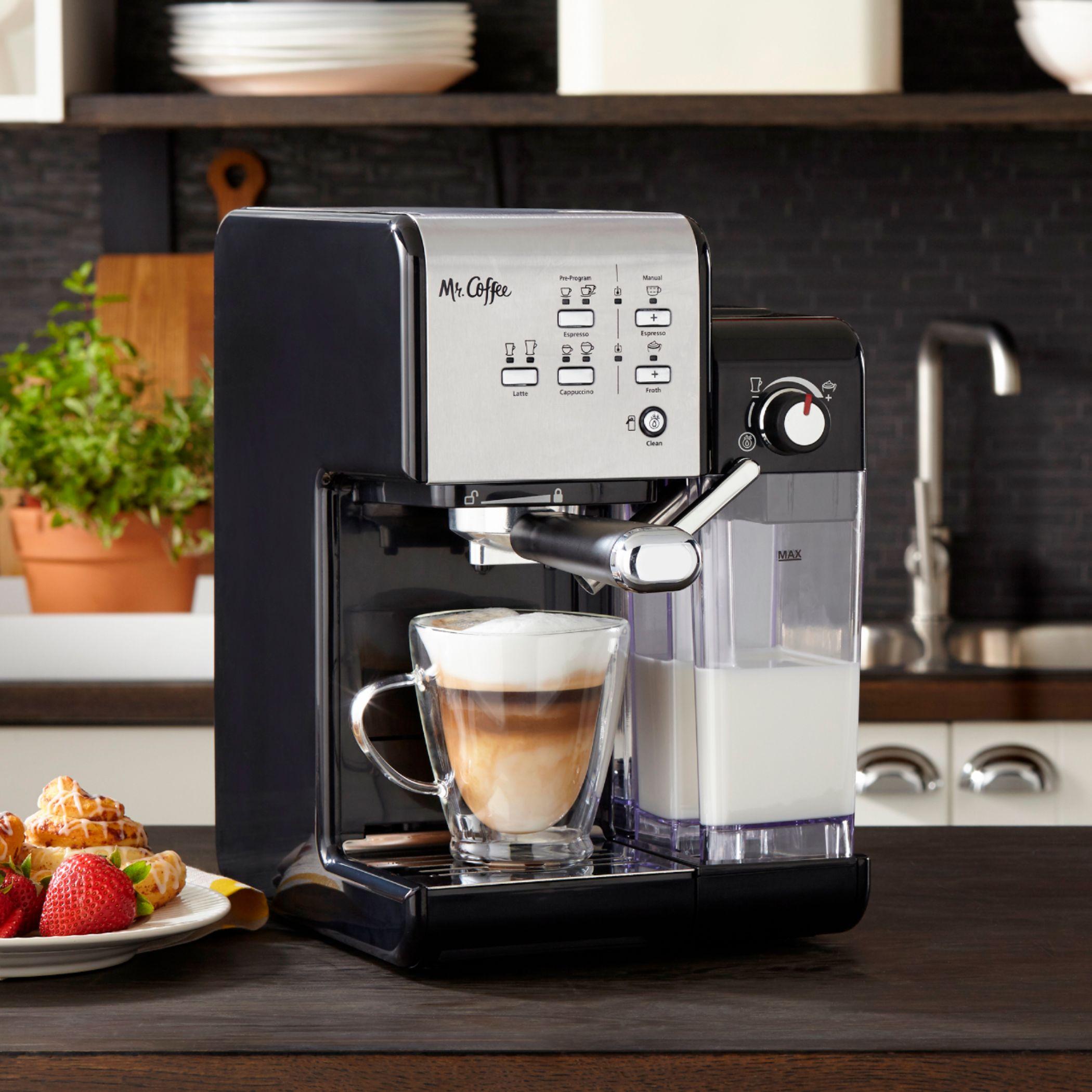 mr coffee espresso machines